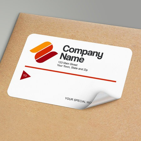 custom envelope mailing labels