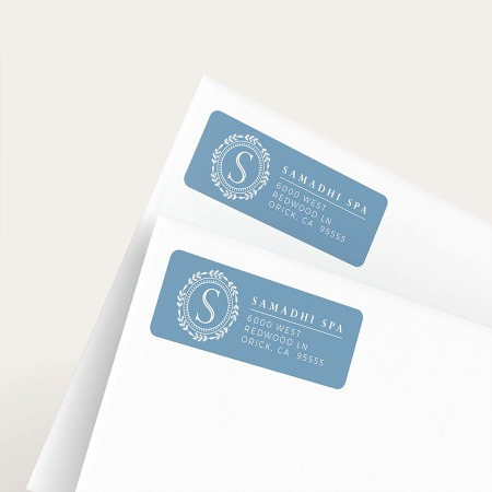 custom envelope labels