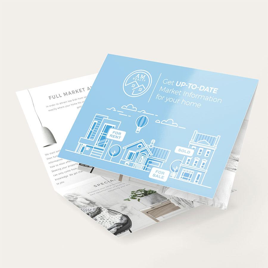 Folded Postcards