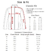 Ladies Jacket Sizes