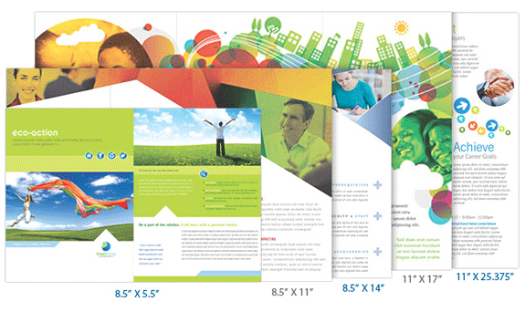 Standard Brochure Sizes