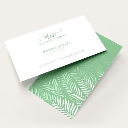 Spot Uv Business Cards Standard Slim Round Corners Uprinting