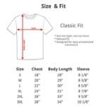 Hanes T-Shirt Sizes