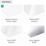 Product Labels Paper Types