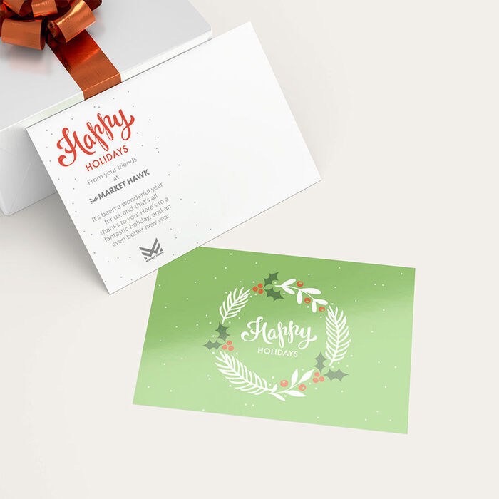 custom designed holiday cards