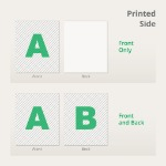 Printed Side