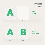 Leaf Flyers Printed Side