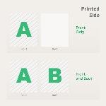 Foil Flyers Printed Side