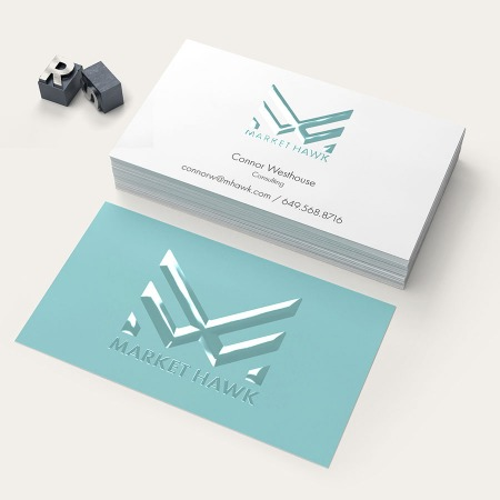 Raised Spot Uv Business Card Printing Premium Business Cards