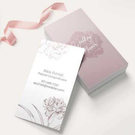 Silk Business Card Printing