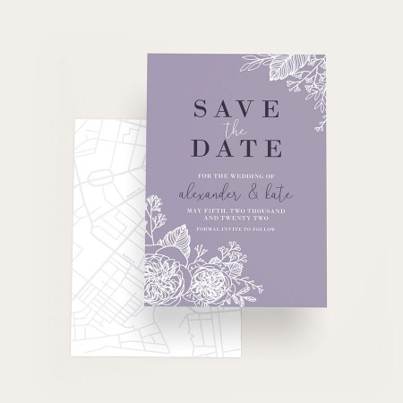 Custom Save The Date Cards Printing