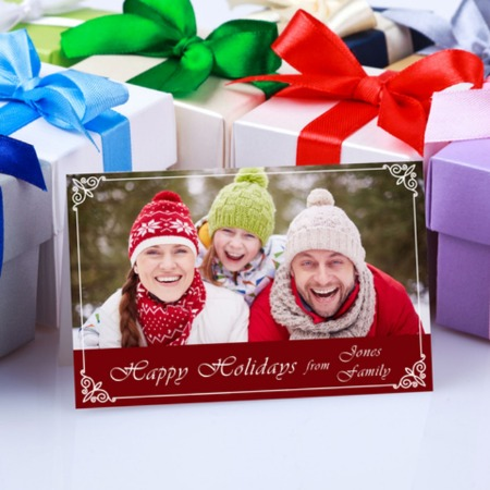 flat holiday greeting cards cards