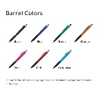 Metallic Cool Grip Stylus Pen Product Colors