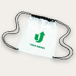 Clear Game Drawstring Backpack