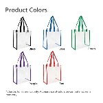 Clear Game Tote Product Color