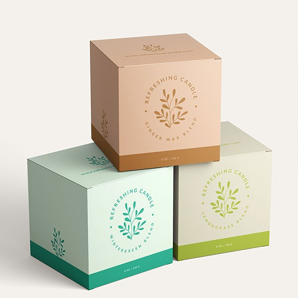 3 candle gift boxes