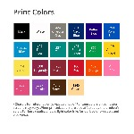 Executive Luggage Tag Print Color