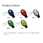 Dual Function Whistle and Keylight Product Color