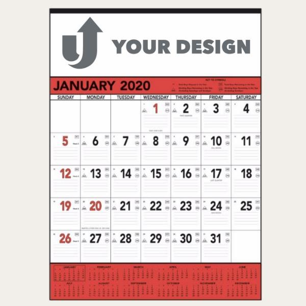 Red & Black Contractor's Memo (13-sheet)