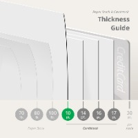 Dine-In Menus Thickness