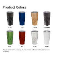 Hugo Copper Vacuum Insulated Tumbler 20oz Product Colors