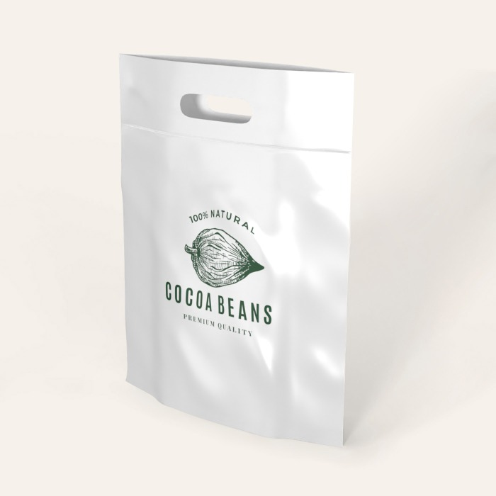 Die-Cut Handle Plastic Bags