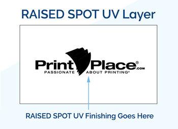 Raised Spot UV Finishing
