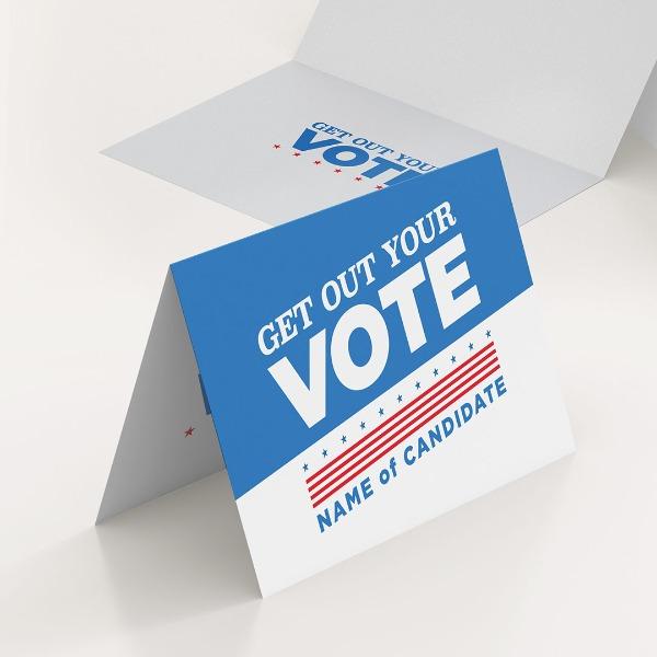 Political Folded Postcards