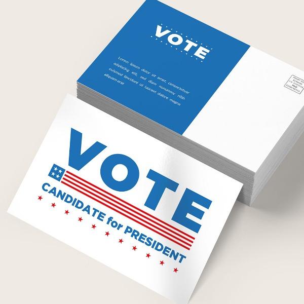 campaign Standard Postcards