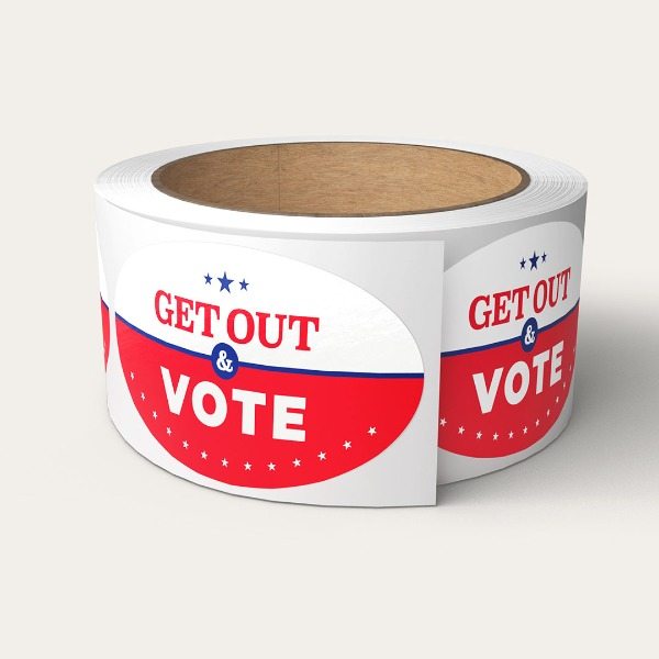 bulk voting stickers