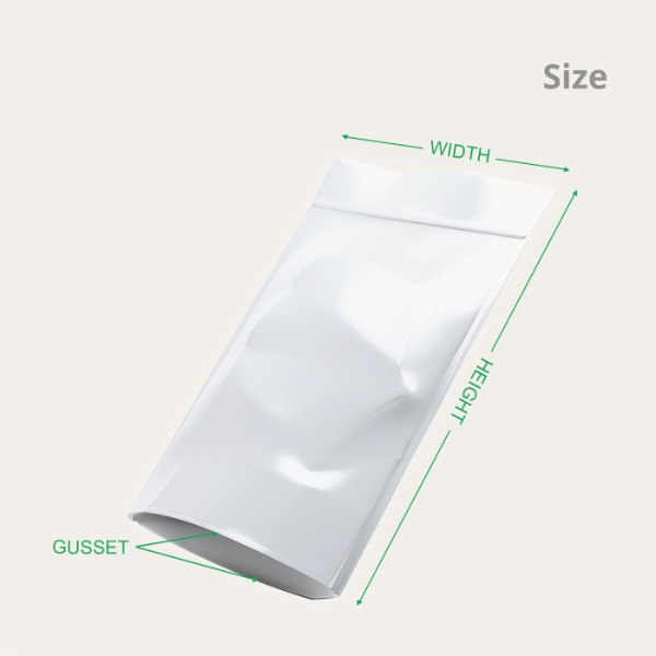 Stand-Up Pouches Size