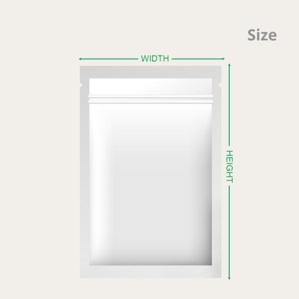 Flat Pouches Size
