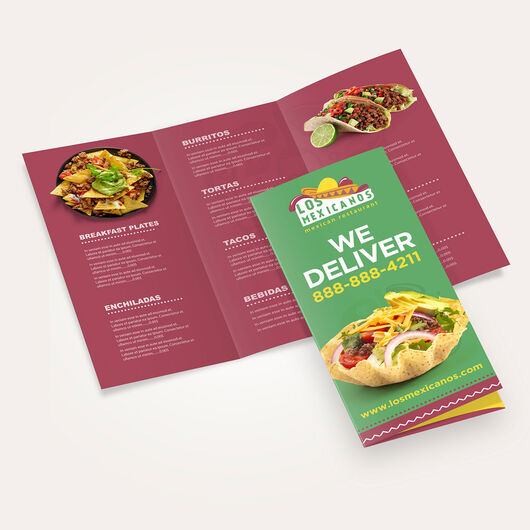 Food Delivery Menus