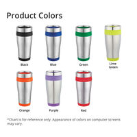 Carmel 16oz Travel Tumbler Product Colors