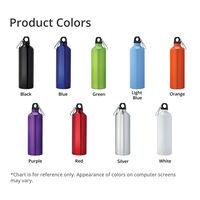 Pacific 26oz Aluminum Sports Bottle Product Colors