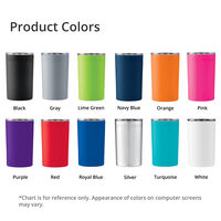 Sherpa 11oz. Vacuum Tumbler and Insulator Product Colors