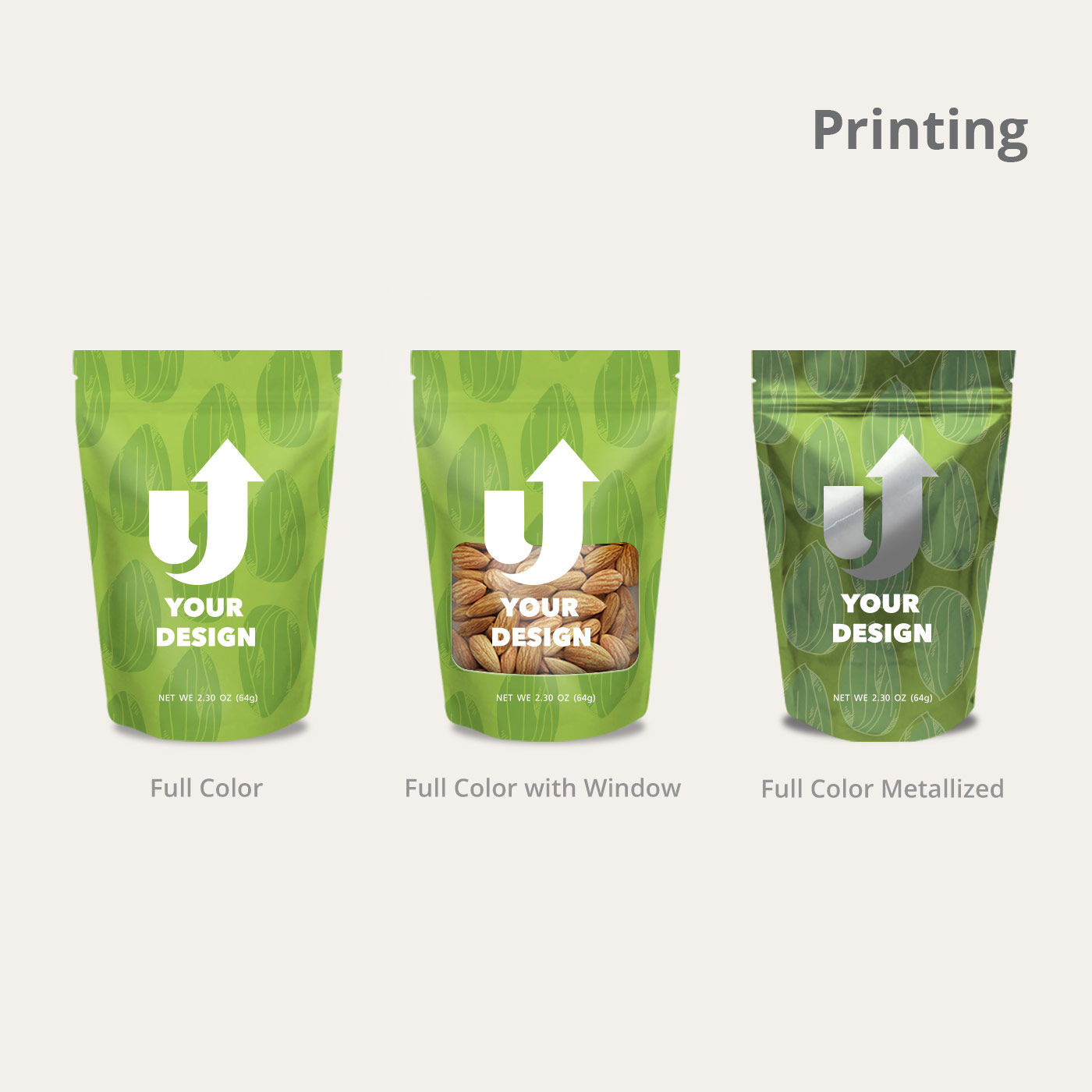 Stand Up Pouches Printing