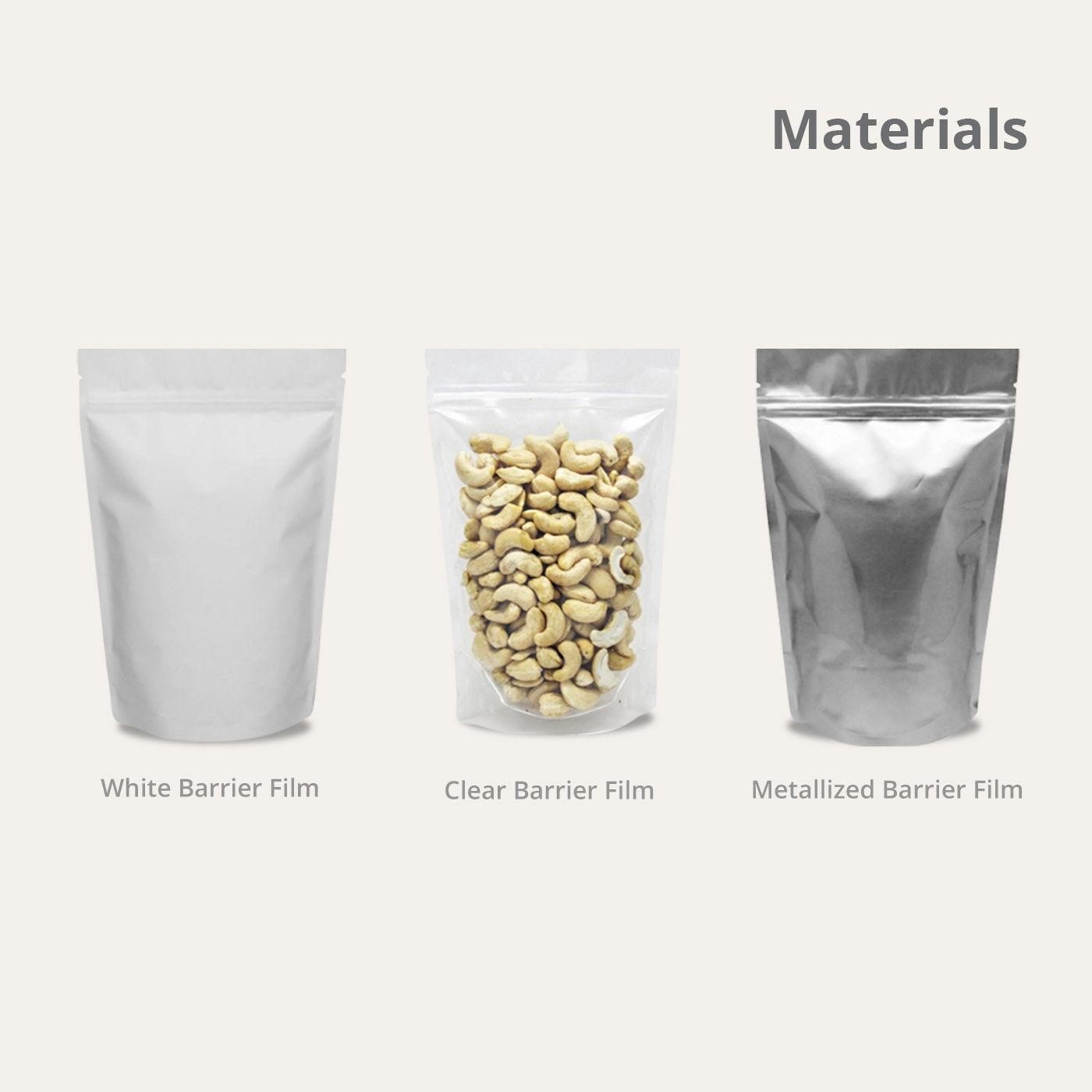 standup pouch materials