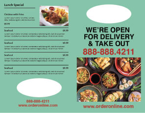 Food Delivery Menu