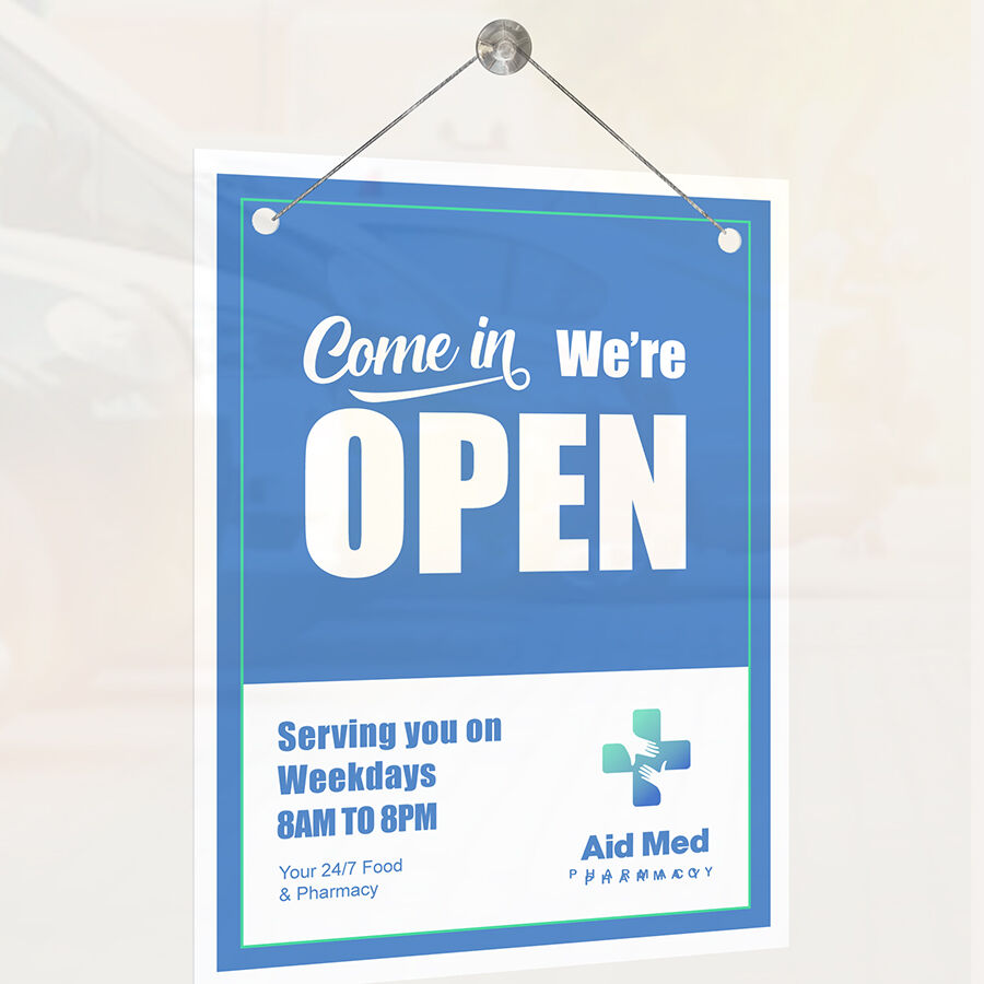 We are open posters