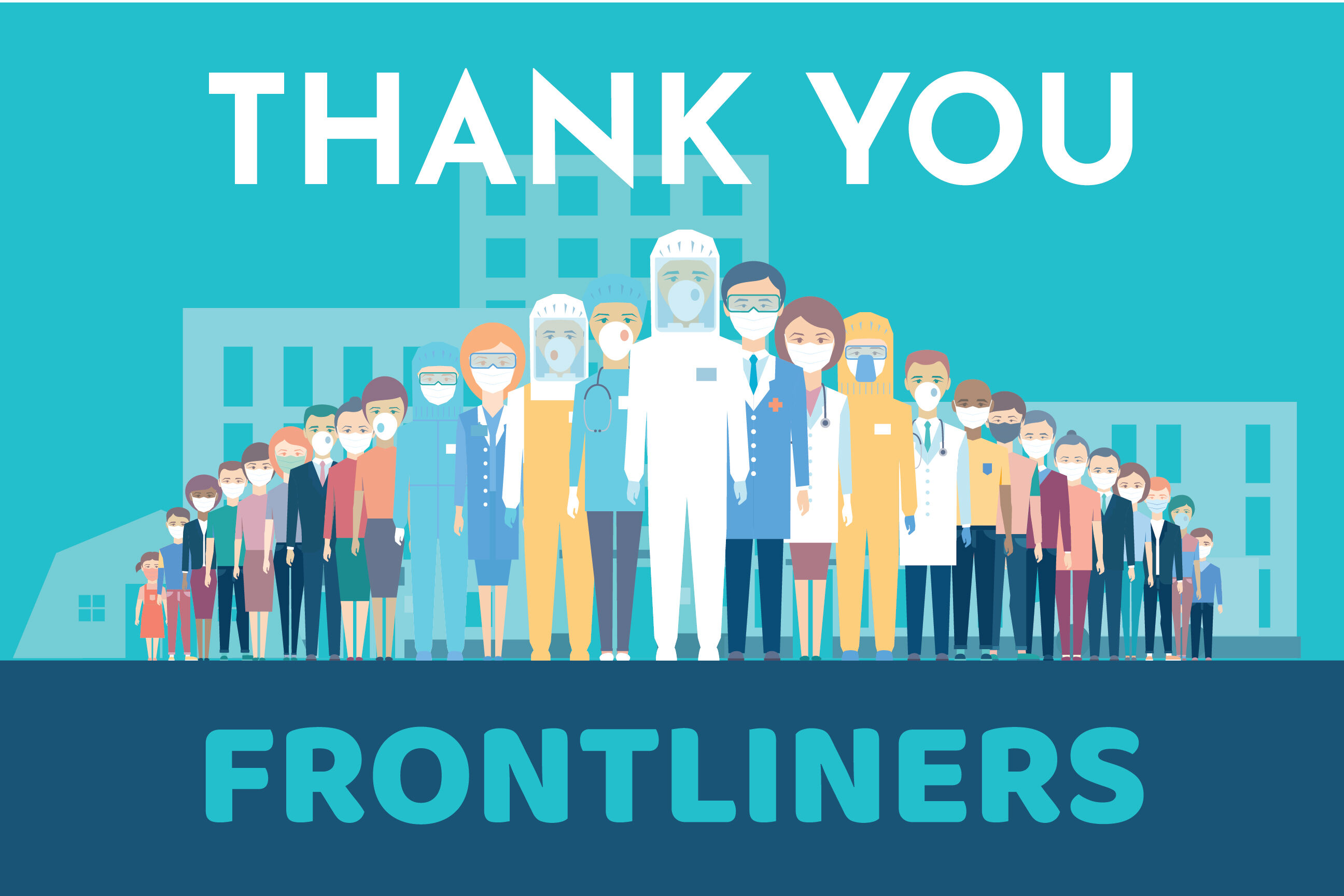Thank you Fronliners Banner