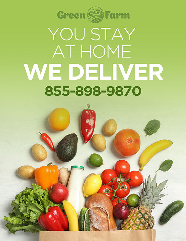 Grocery Delivery Brochure