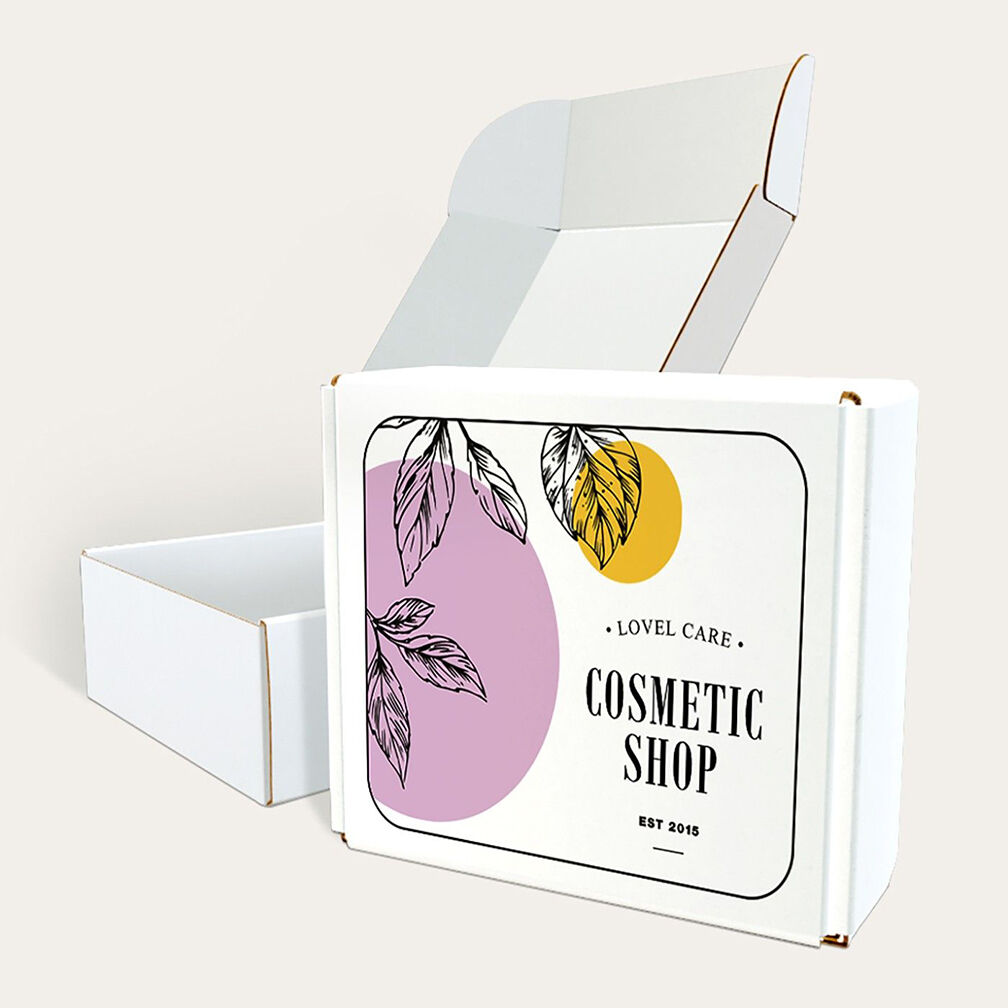budget mailer box for cosmetic products