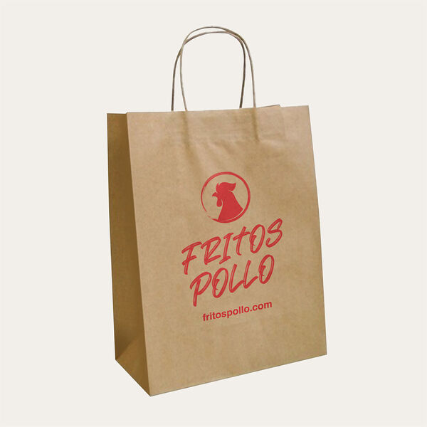Recycled Kraft Paper Bags