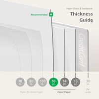 Bulk Booklets Thickness
