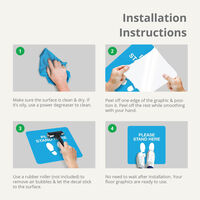 Floor Graphics Installation Instructions