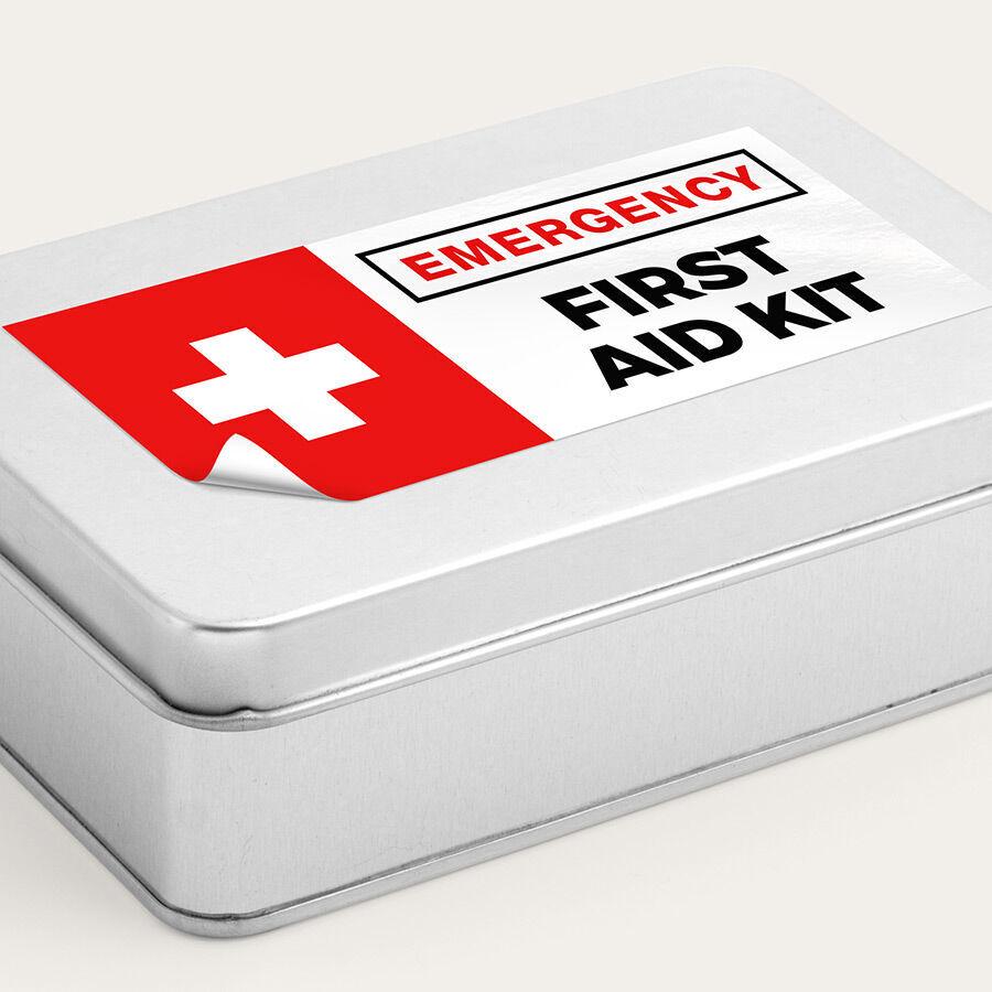 Custom Health Safety Stickers