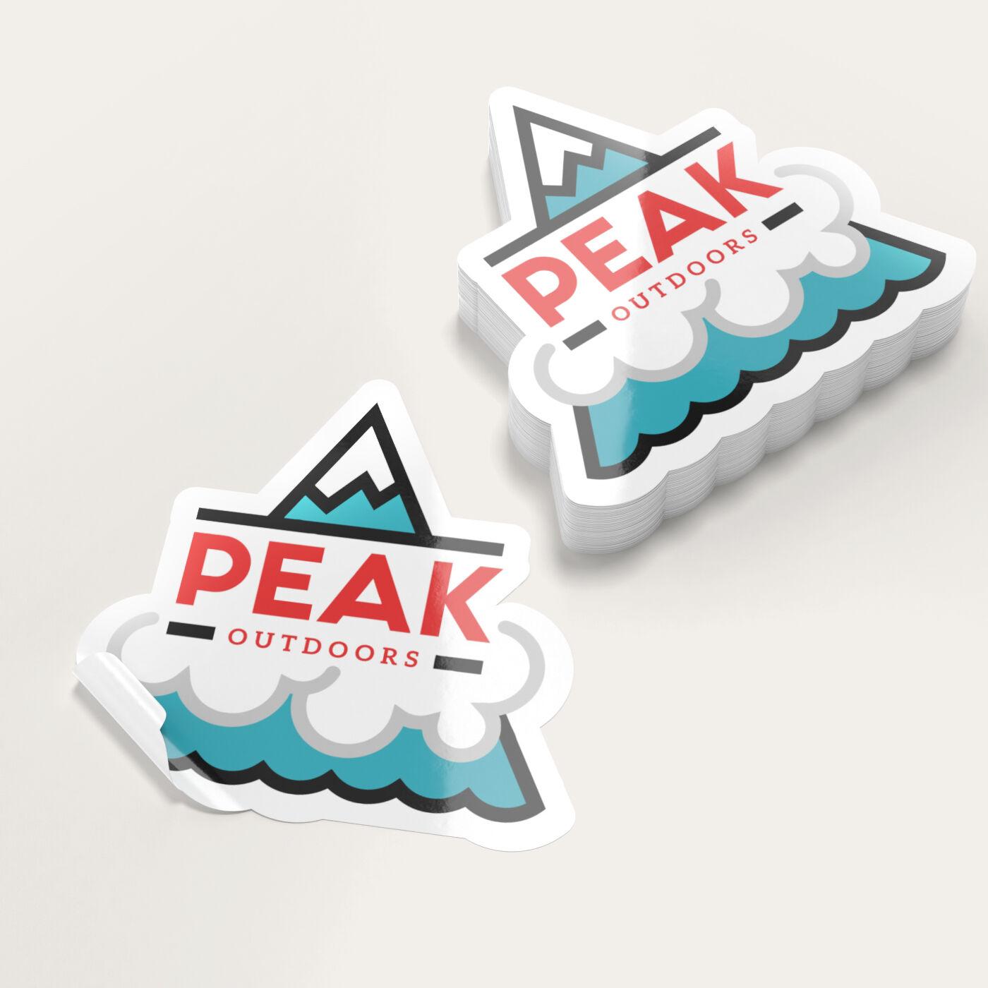 Cut Stickers Print Custom Logo