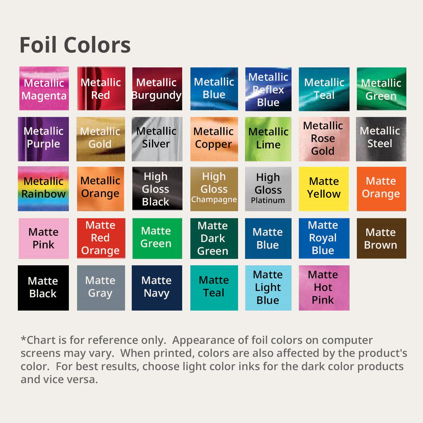 Ribbons and Bows Print Colors
