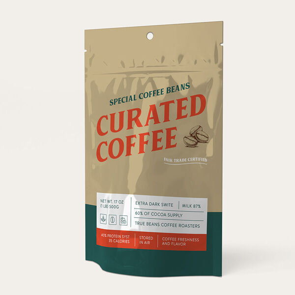 custom printed coffee pouches